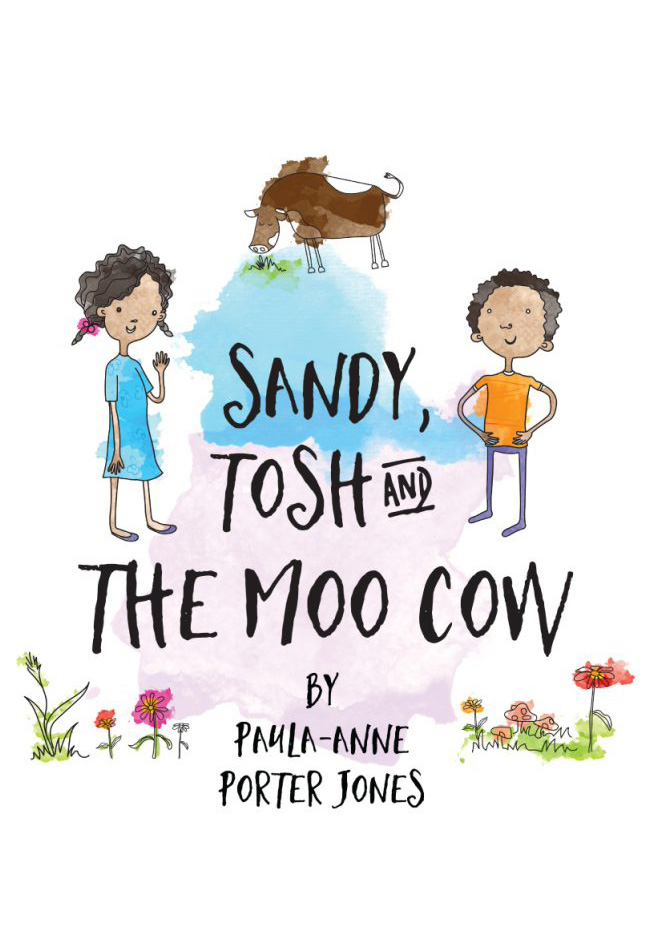 Sandy, Tosh And The Moo Cow
