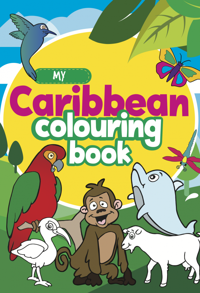 My Caribbean Colouring Book